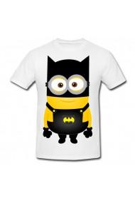 Tricou Batman minion alb