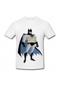 Tricou Batman foto alb