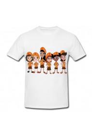 Tricou Phineas & Ferb, Fireside Girls alb
