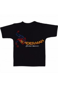 Tricou SpiderMan homecoming negru