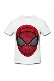 Tricou SpiderMan face alb