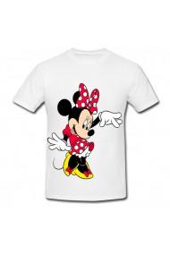 Tricou Minnie Mouse 4 alb