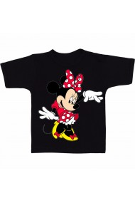 Tricou Minnie Mouse 4 negru