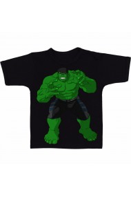 Tricou Hulk drawing negru
