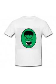 Tricou Hulk drop down menu alb