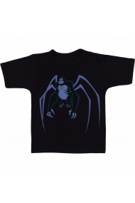Tricou Ben 10 spidermonkey negru