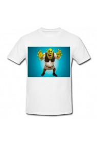 Tricou Shrek photo alb