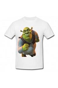 Tricou Shrek fist alb