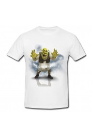 Tricou Shrek Forever after alb