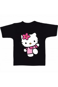 Tricou Hello Kitty running negru