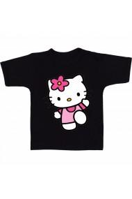 Tricou Hello Kitty running negru