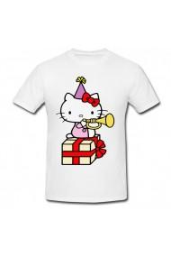 Tricou Hello Kitty gift alb