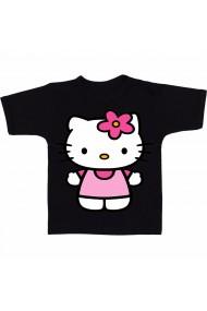 Tricou Hello Kitty standard negru