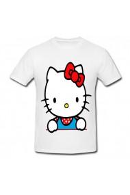 Tricou Hello Kitty white alb