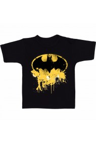 Tricou Batman logo 3D negru