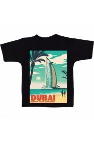 Tricou Dubai negru