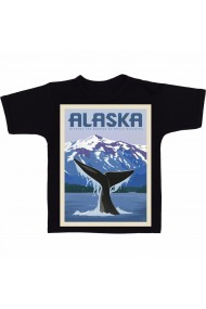 Tricou Alaska negru