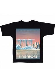 Tricou Singapore, Asia negru