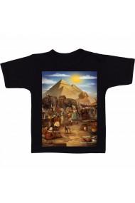 Tricou Cairo Art negru