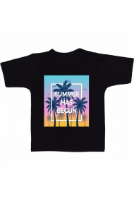 Tricou Summer has Begun negru