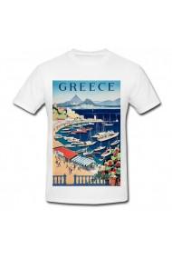 Tricou Greece alb
