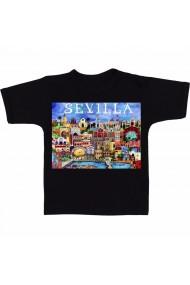 Tricou Sevilla Art negru