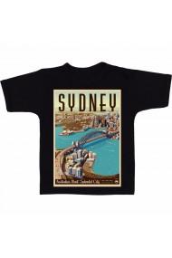 Tricou Sydney, Australia negru