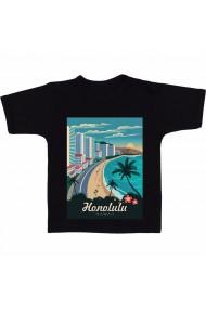Tricou Honolulu negru