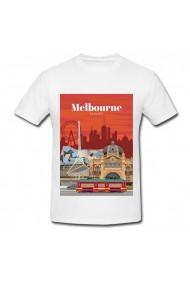 Tricou Melbourne, Australia alb