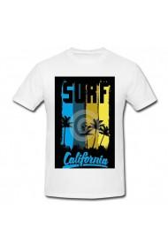 Tricou California, Surf alb