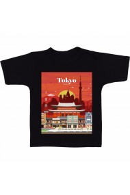 Tricou Tokyo negru