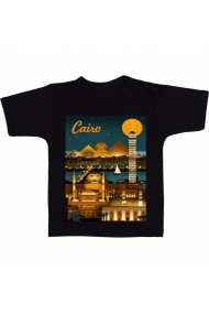 Tricou Cairo night negru