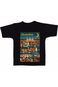 Tricou Amsterdam negru