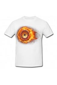 Tricou Ruleta cu foc alb