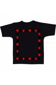 Tricou Dreptunghi culori negru