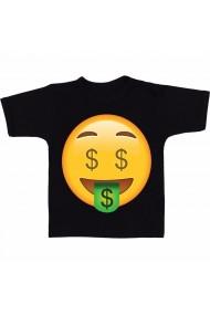 Tricou Dolar emoji 2 negru
