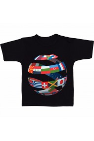 Tricou Cross cultural communication negru