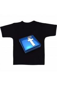 Tricou Facebook negru