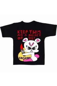 Tricou Sindicat de cocaina negru