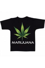 Tricou Marijuana glossy negru