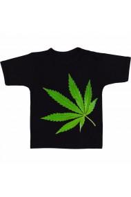 Tricou Marijuana 4 negru