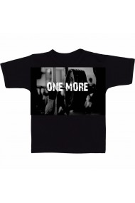 Tricou One more negru
