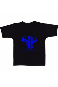 Tricou Physical fitness negru