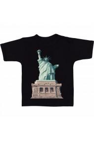 Tricou Statuia Libertatii 3 negru