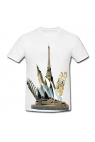 Tricou Casa operei din Sydney alb