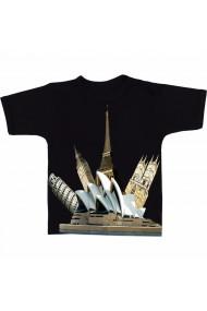 Tricou Casa operei din Sydney negru