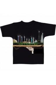 Tricou Obiective turstice, pe tava negru