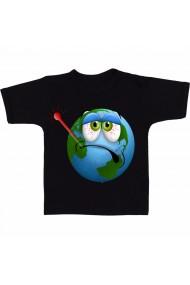 Tricou Planeta bolnava negru