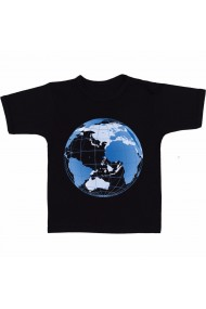 Tricou World global negru