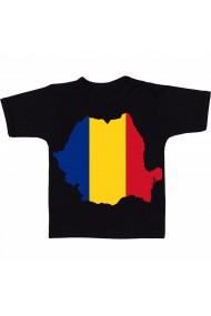 Tricou Romania negru